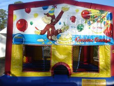 Curious George Jump House