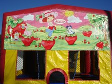 Strawberry Shortcake Jump House