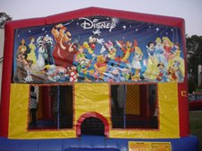 Rent this Disney Characte Bounce House!